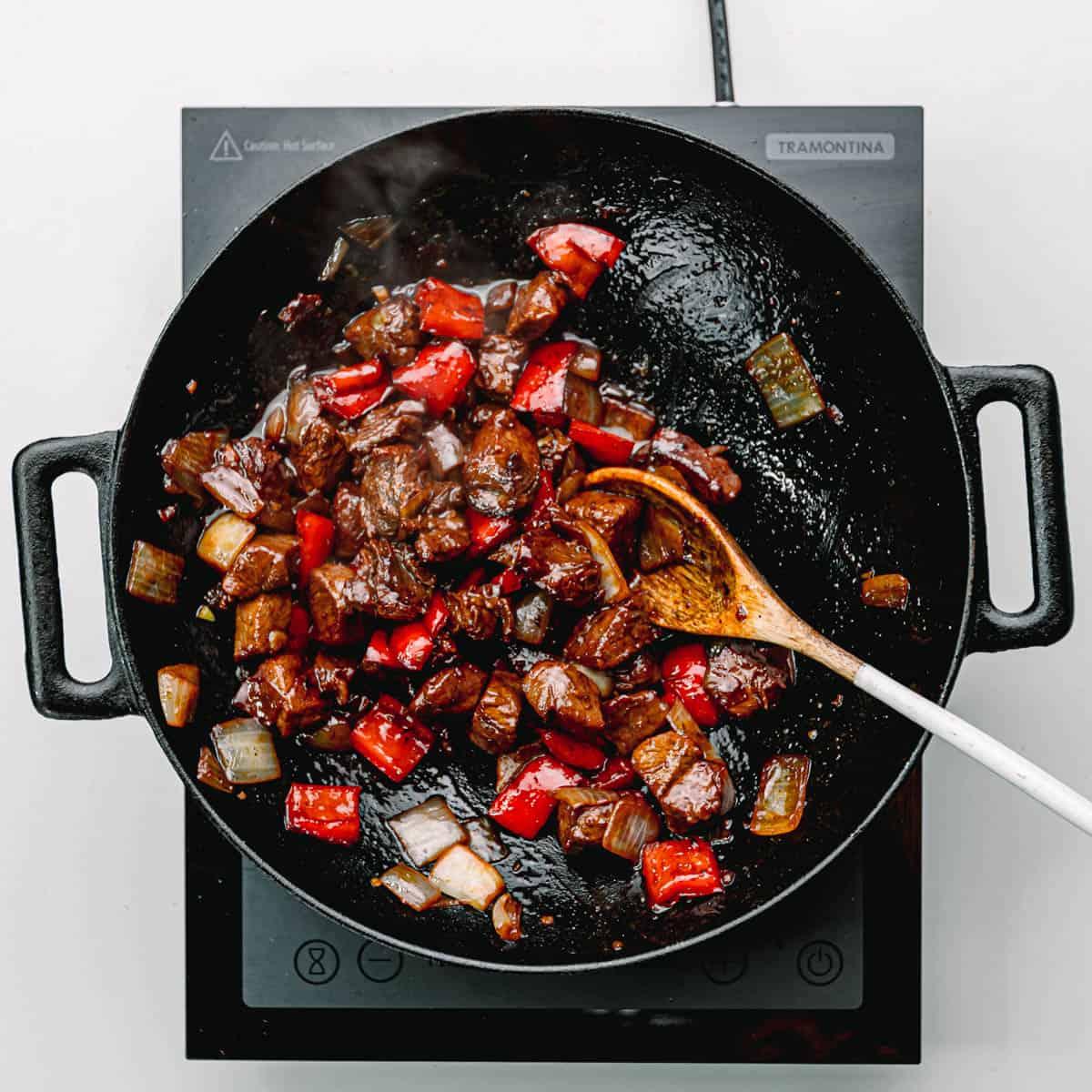 Vietnamese beef stir fry.