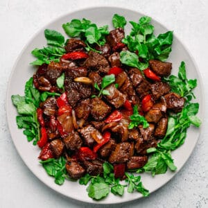 Bo Luc Lac Recipe (Vietnamese Shaking Beef)