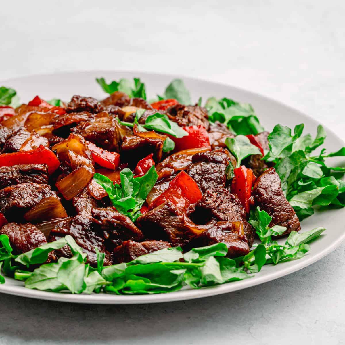 Vietnamese Shaking Beef.
