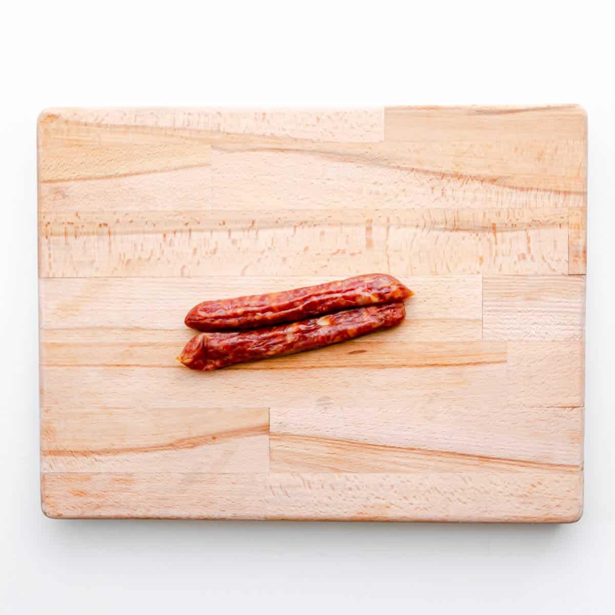 Chinese Sausage.