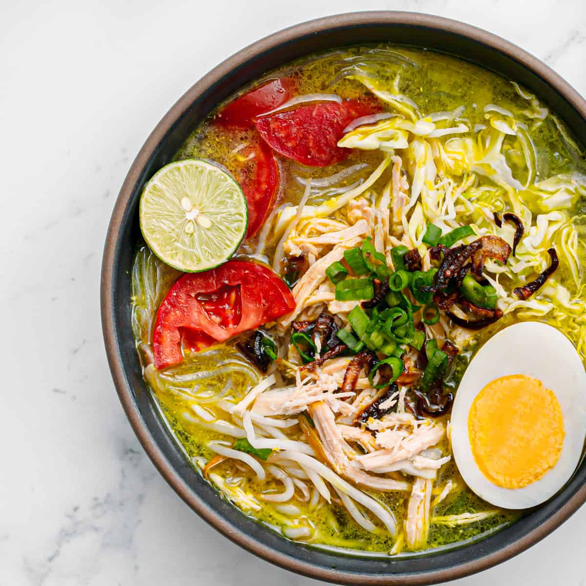 Soto Ayam Recipe Indonesian Chicken Soup.