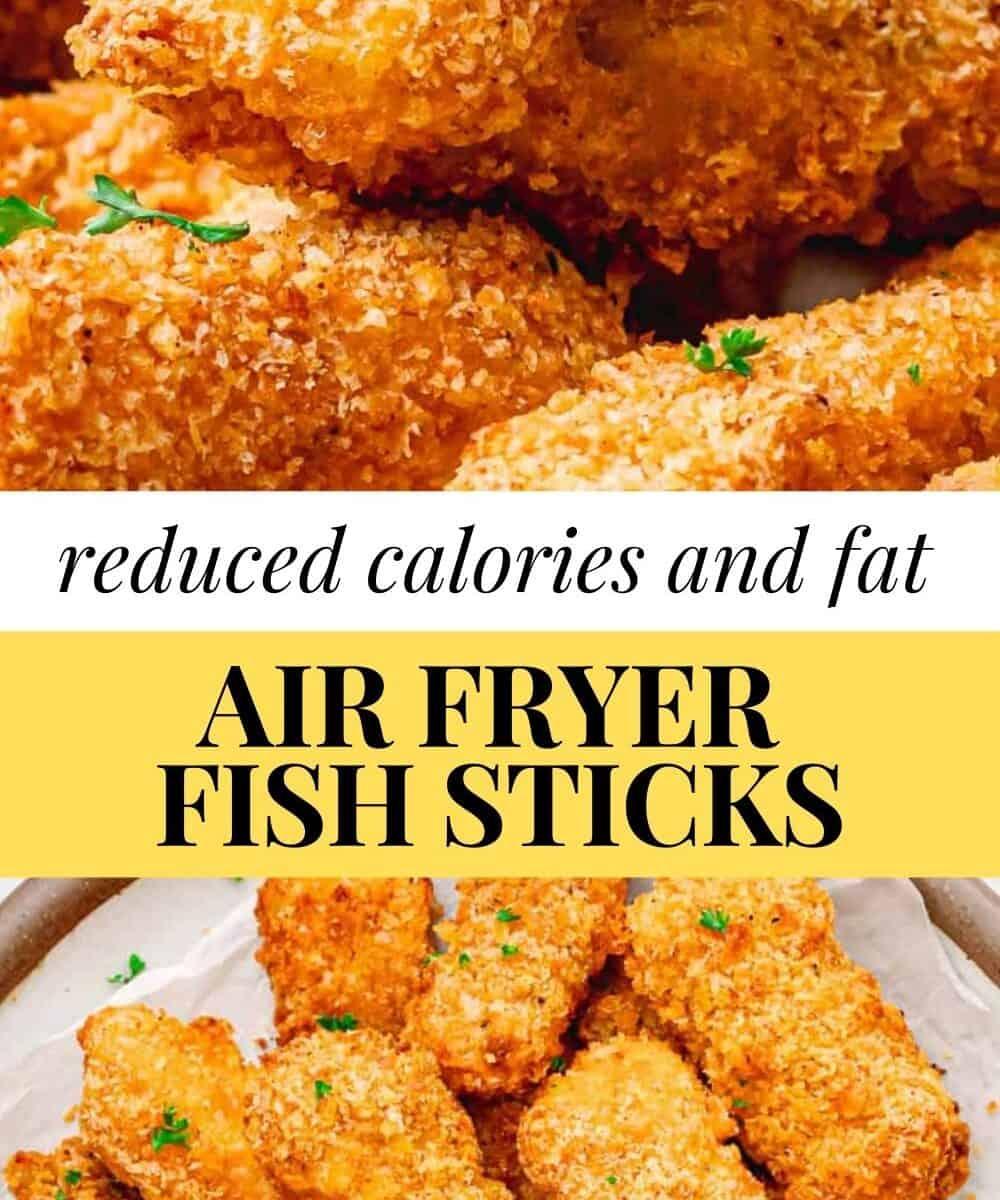 air fryer fish sticks.