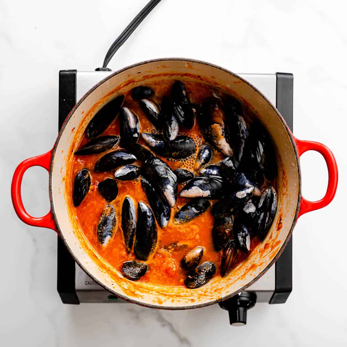 how to steam mussels.