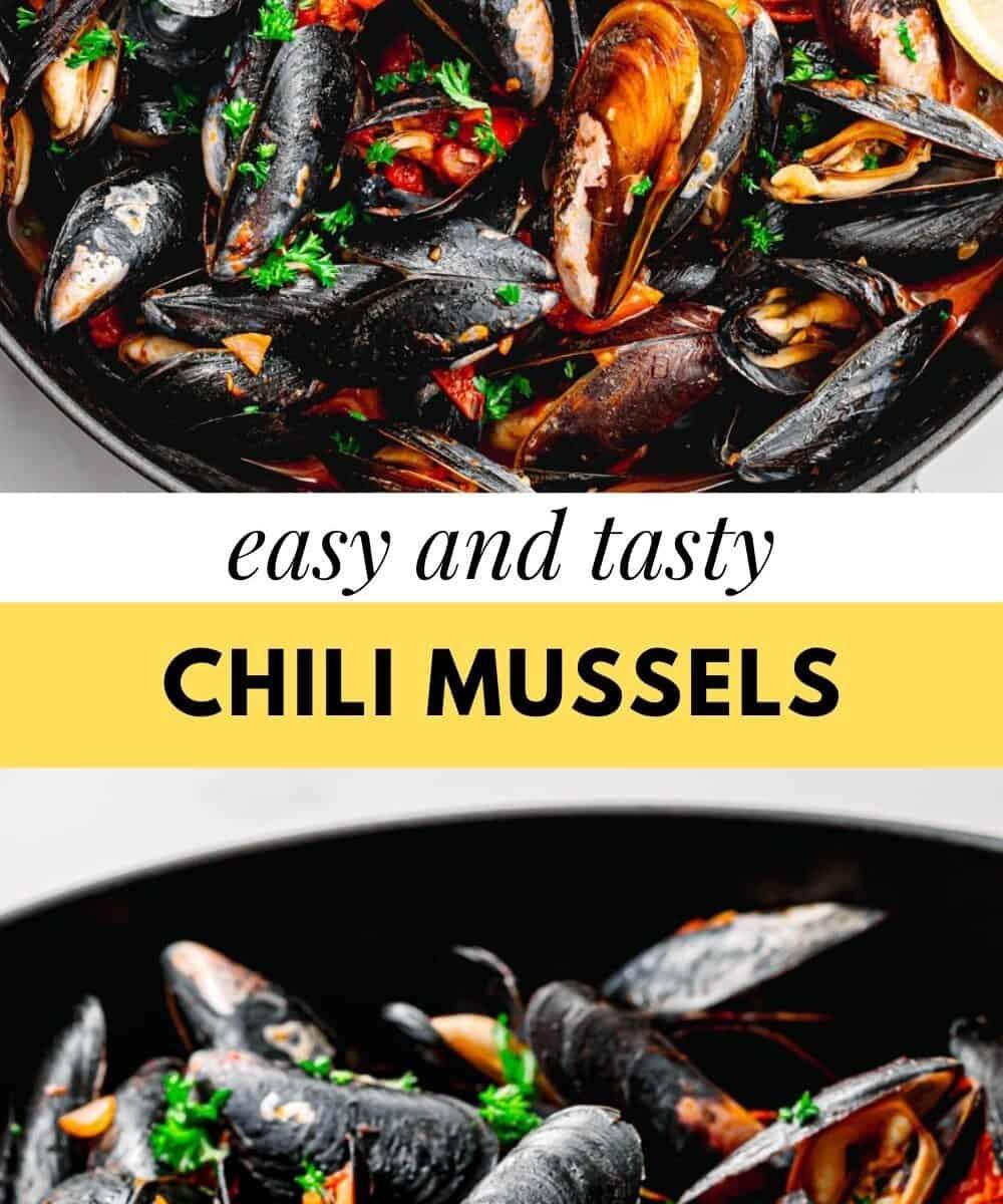 Chilli mussels recipe