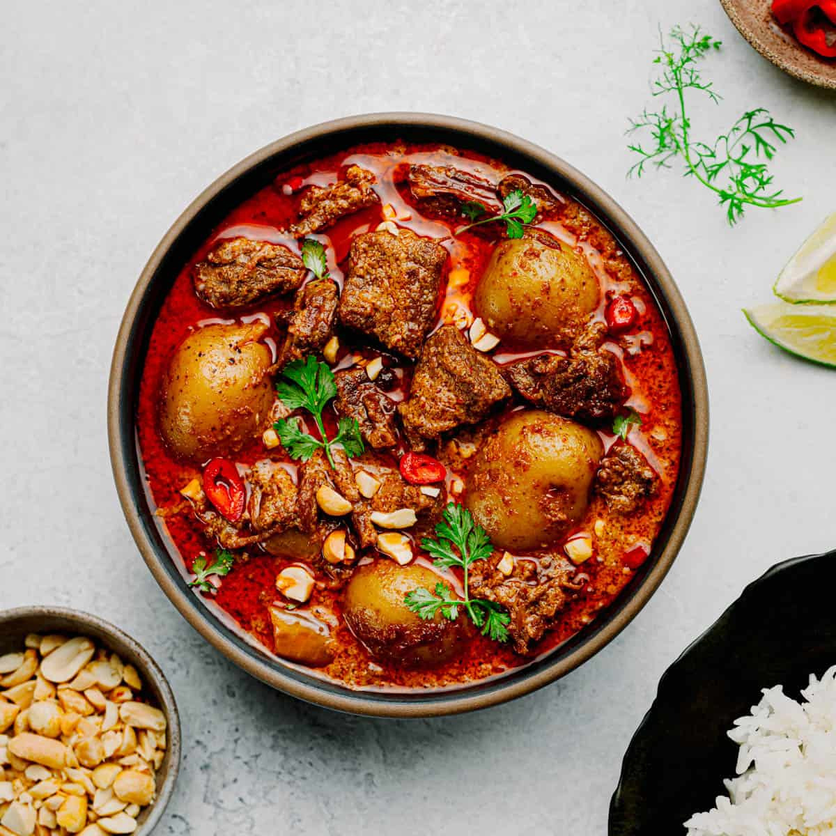 Instant Pot Massaman Curry with Beef