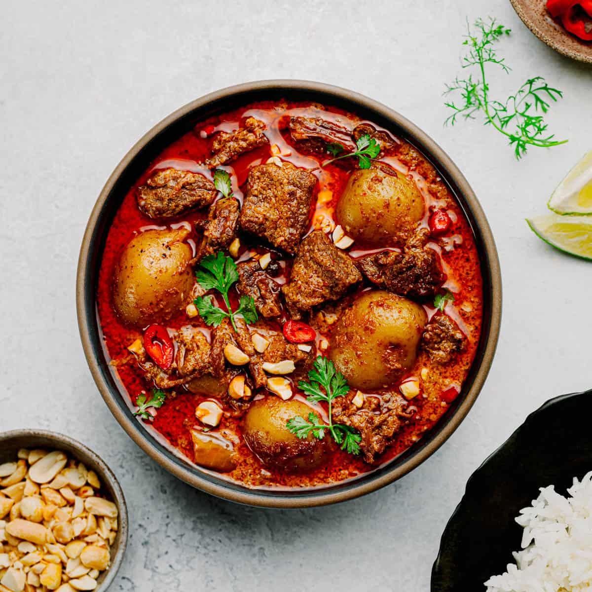 Beef Massaman Curry.