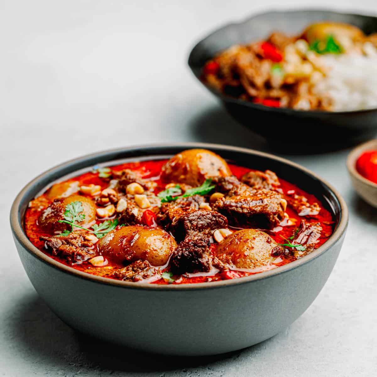 Massaman Curry with Beef recipe.