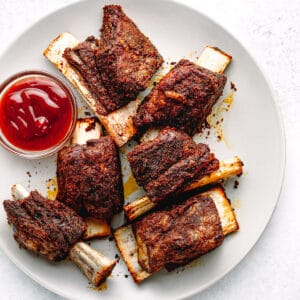 Pressure Cooker BBQ Beef Ribs.