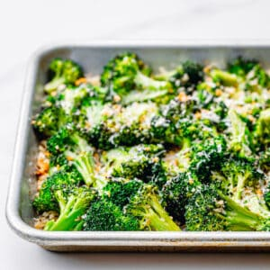 Roasted Broccoli with Panko Breadcrumbs and Parmesan.