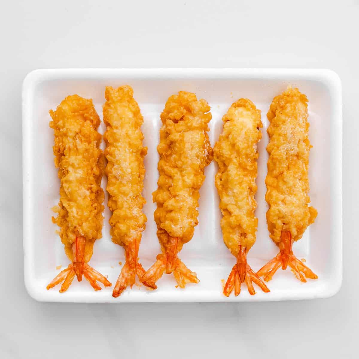 Costco Tempura Shrimp.