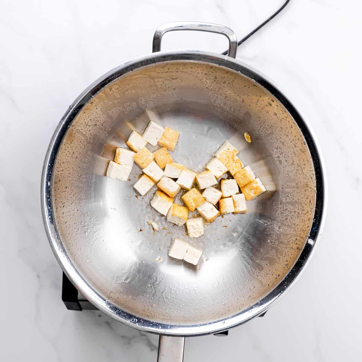 stir fry tofu.