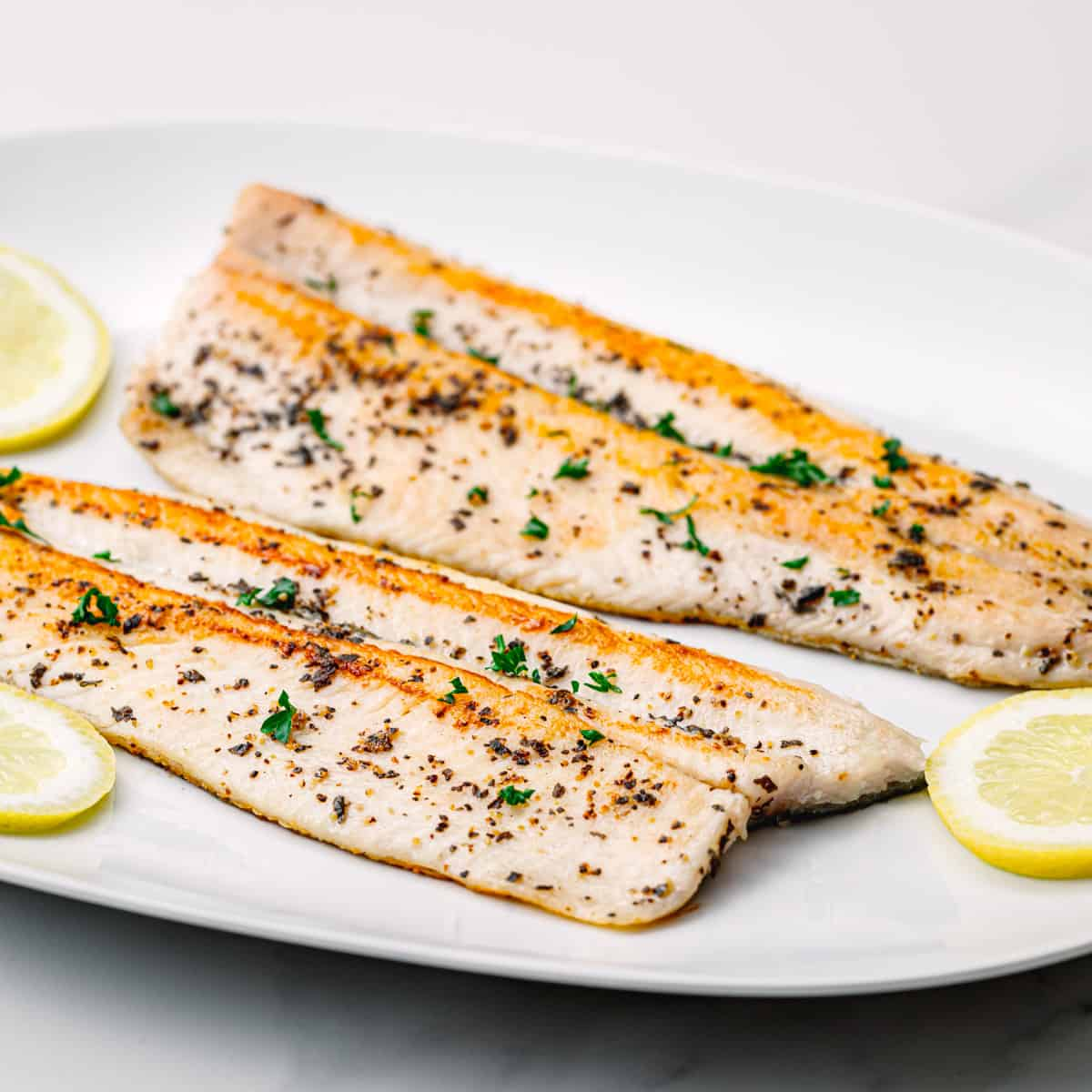 Easy Pan-Fried Trout Recipe.