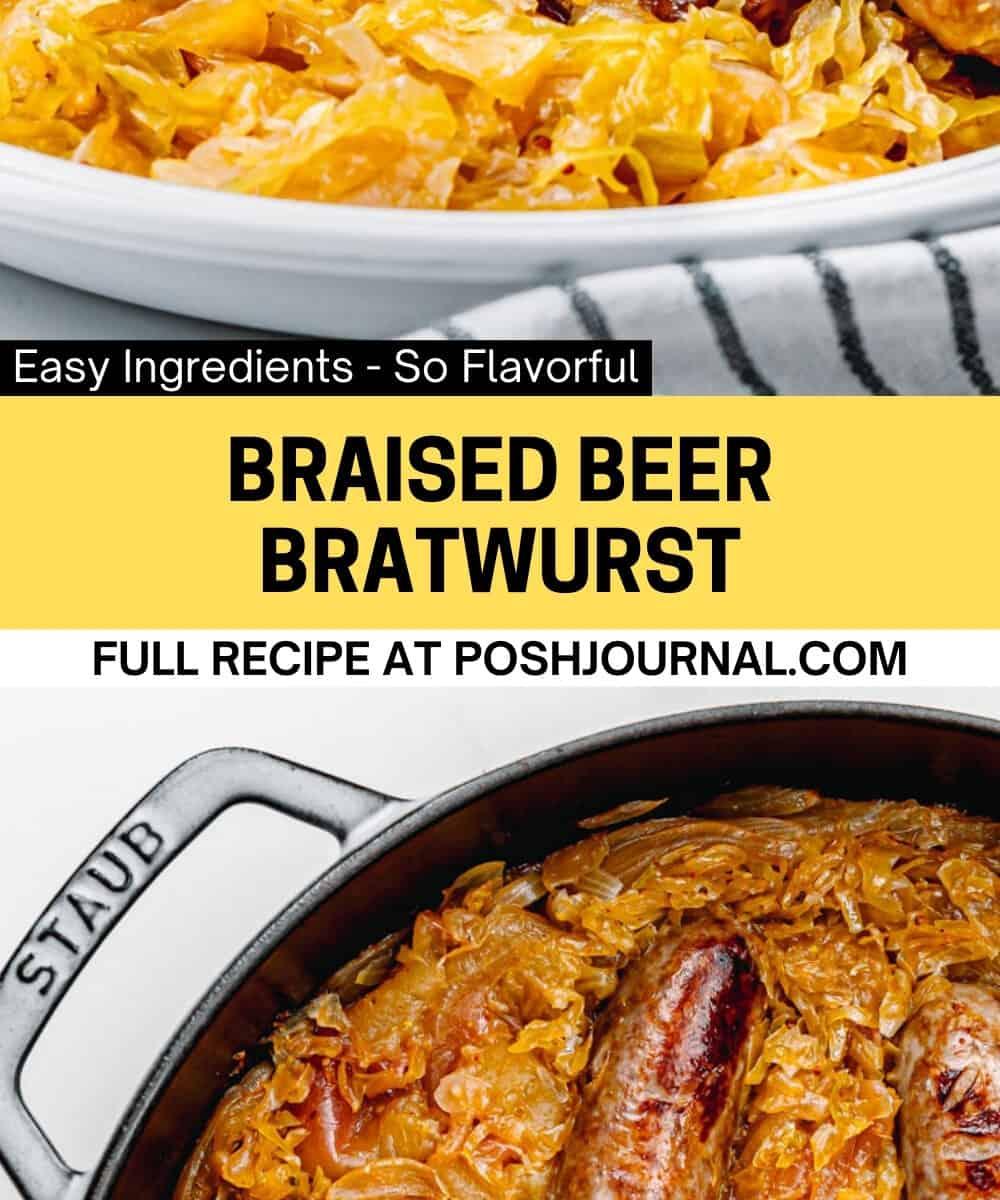 Beer Bratwurst in the Oven