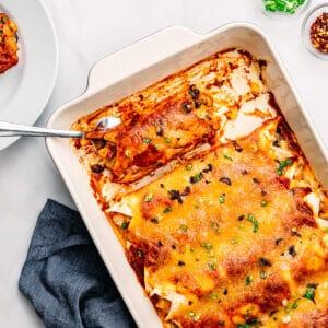 Chicken Enchiladas Recipe.