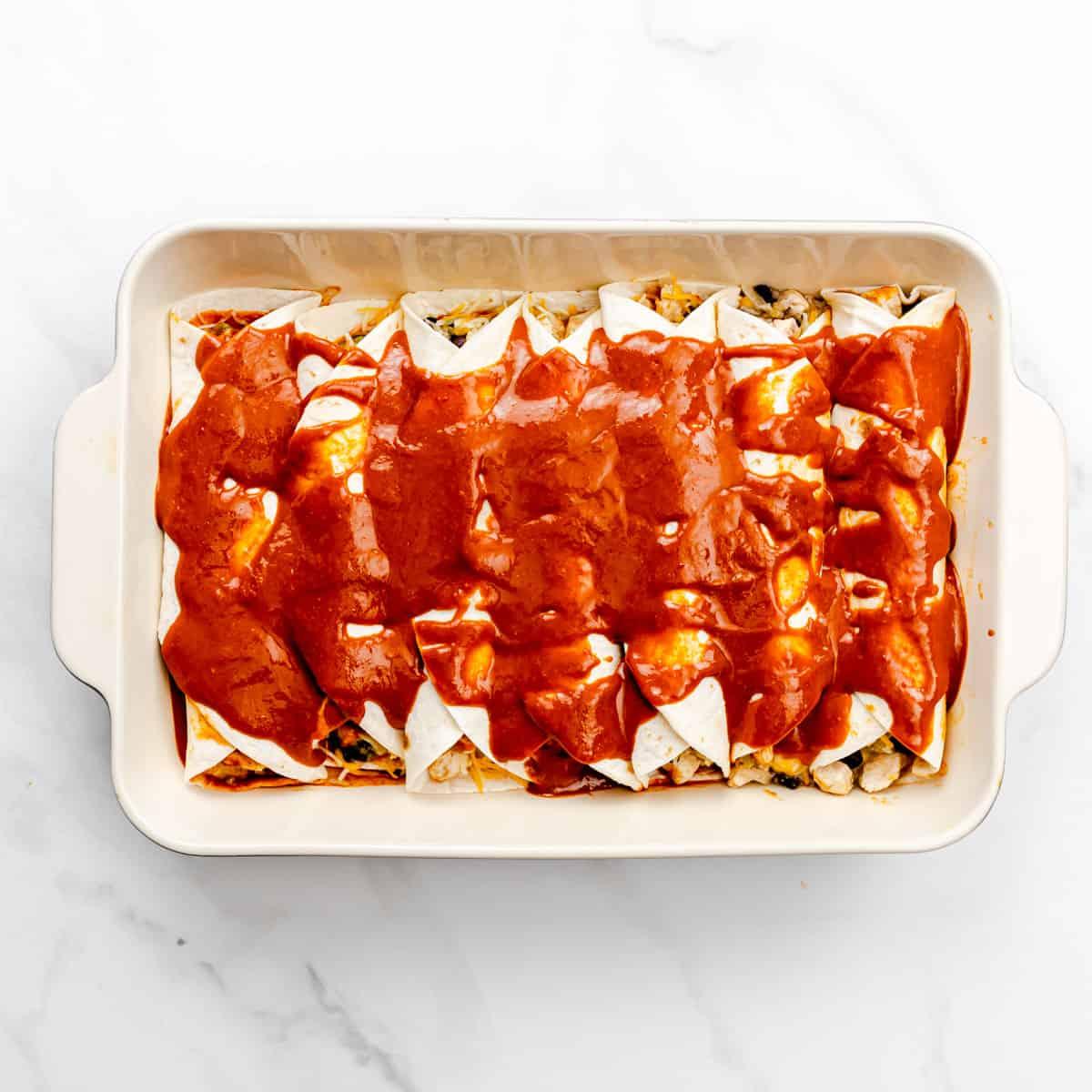 enchilada sauce.