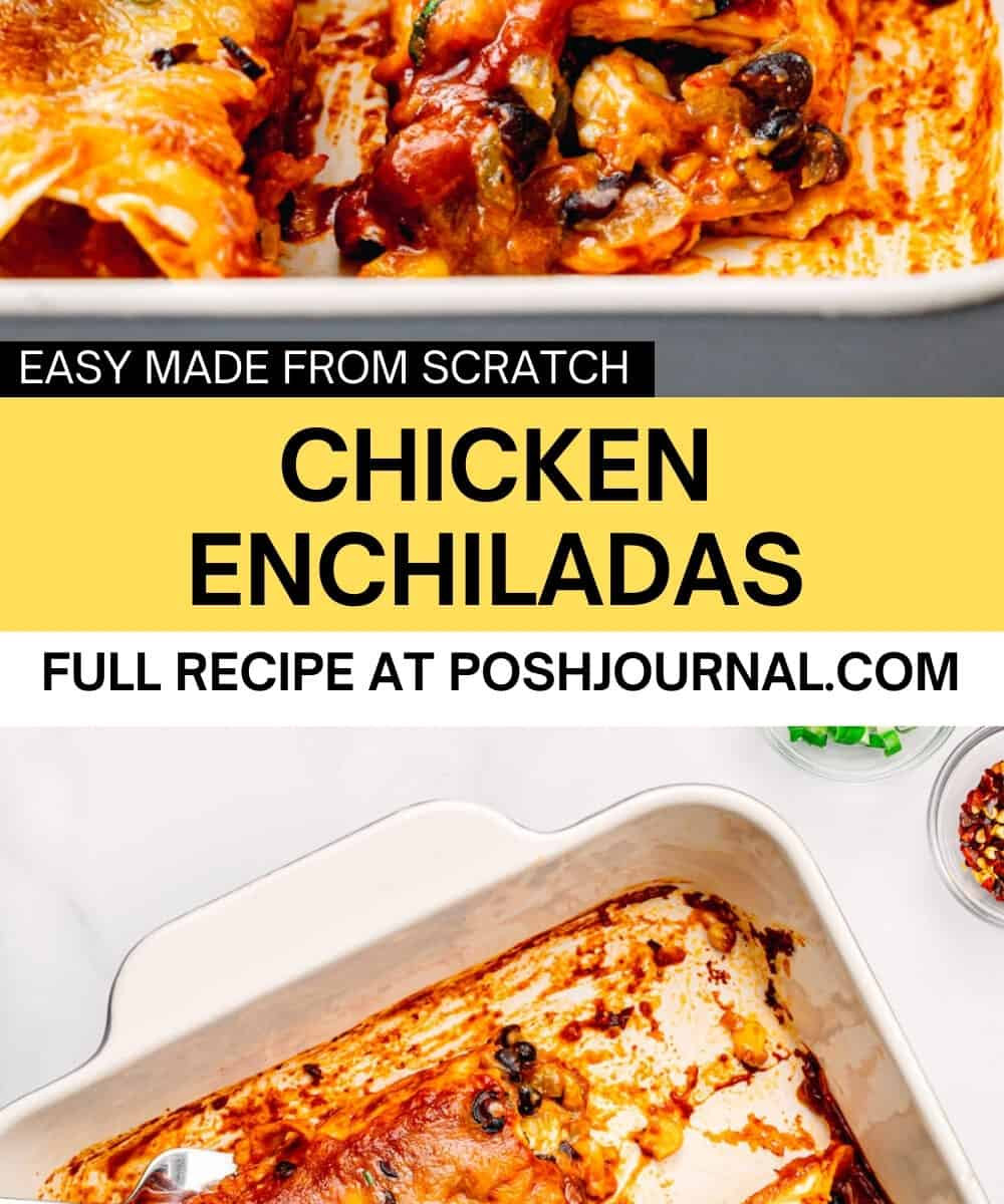 Chicken Enchiladas Recipe