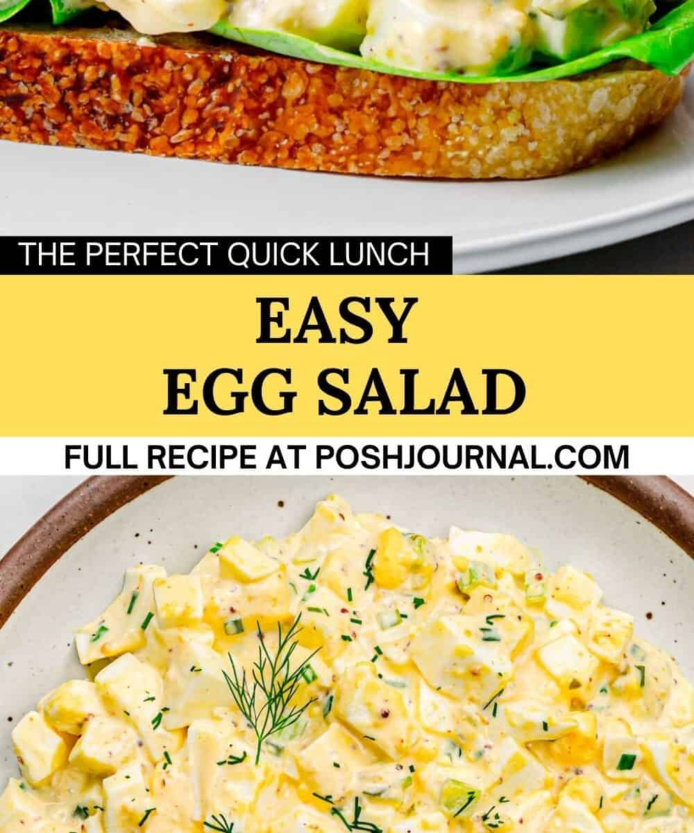 Egg Salad Recipe.