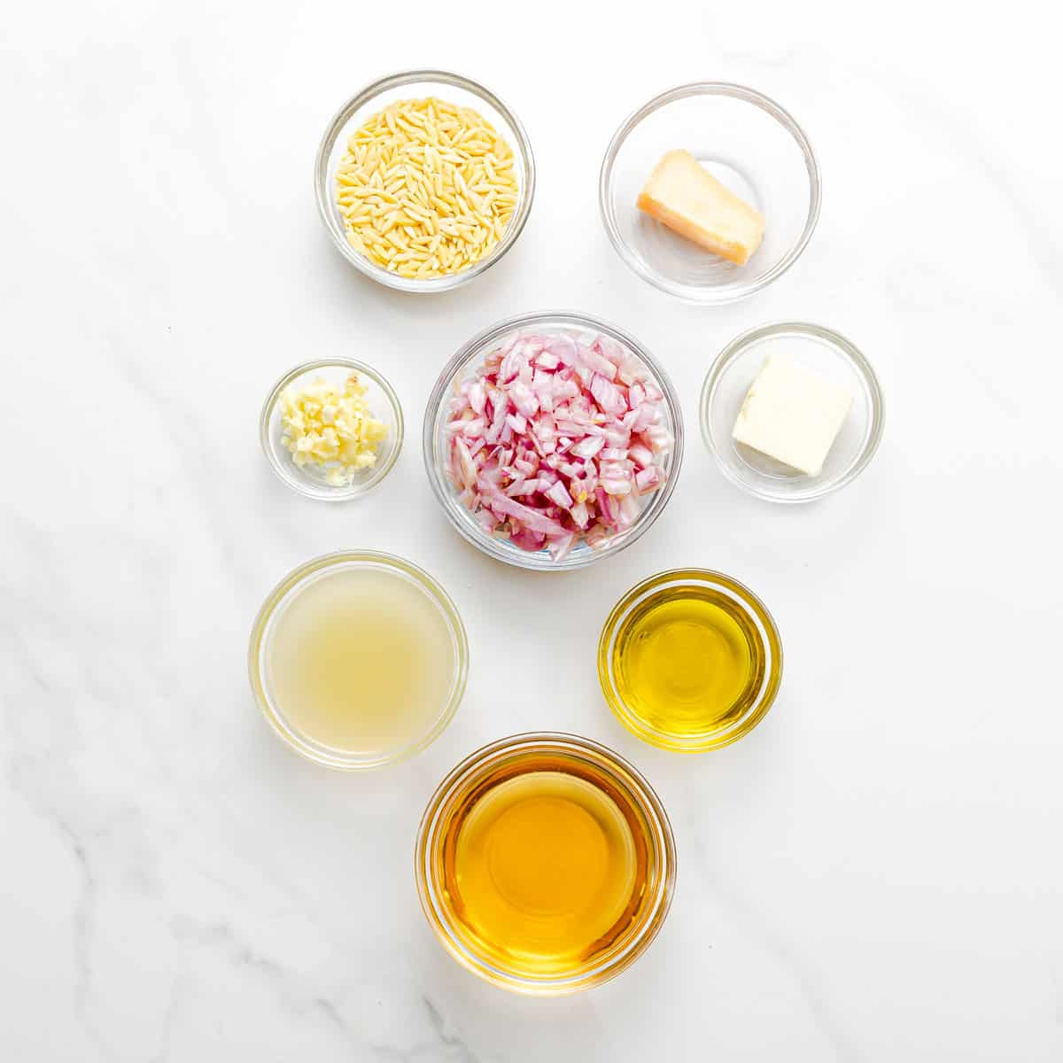 risotto ingredients.