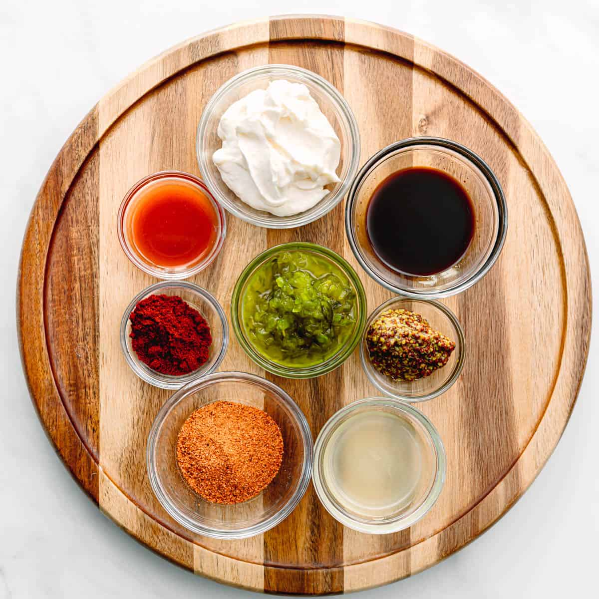 Ingredients for Cajun Remoulade Sauce Recipe