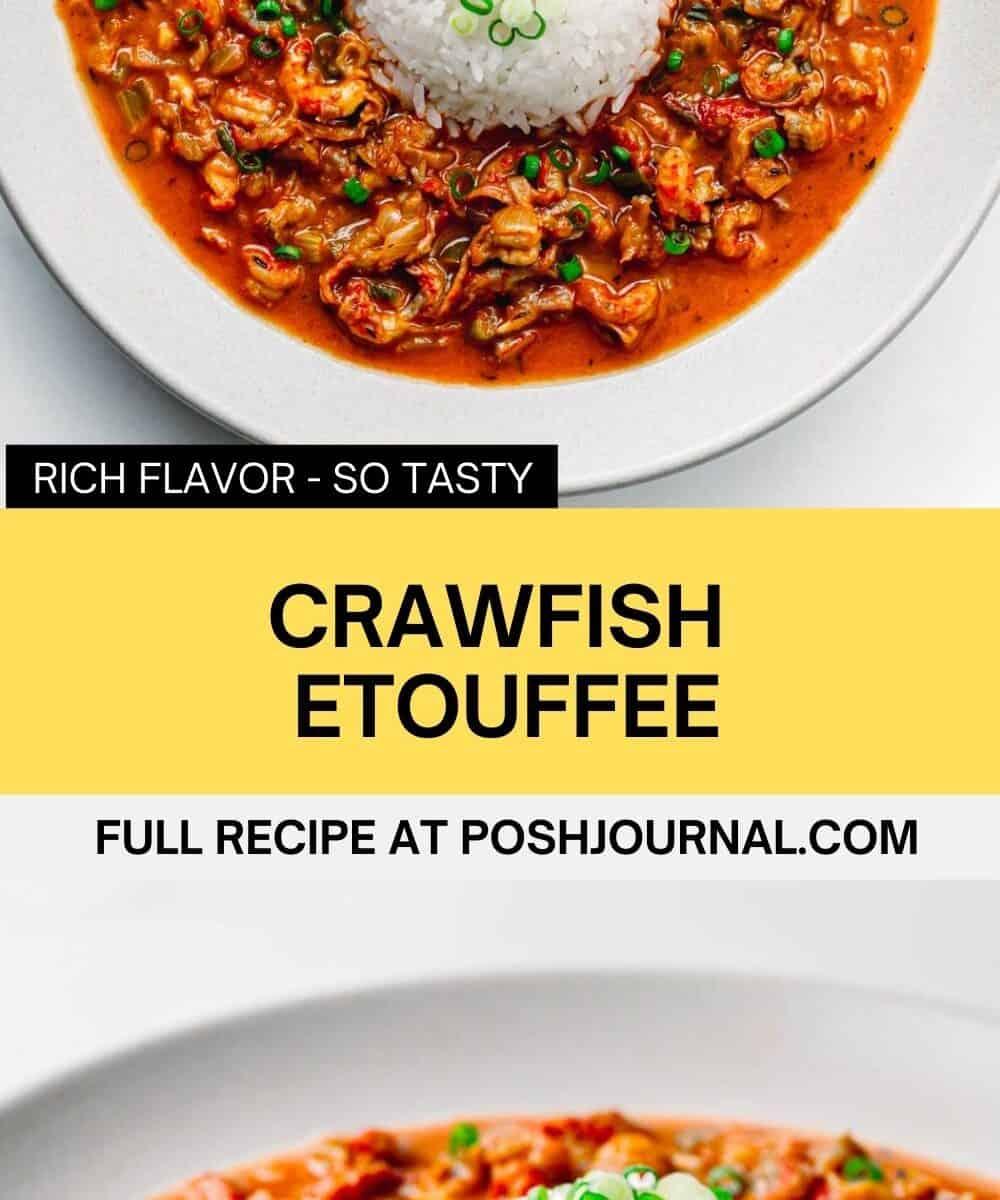 Crawfish Etouffee Recipe.